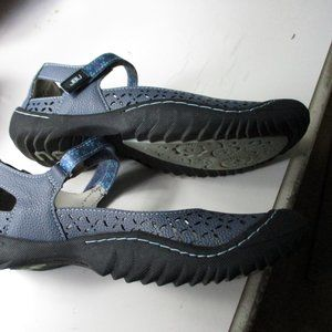 Jambu Shoes - Jambu Palm Denim Size 7 Sandal